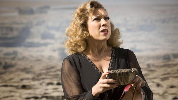 Alex Kingston is reprising her role as River Song in Doctor Who