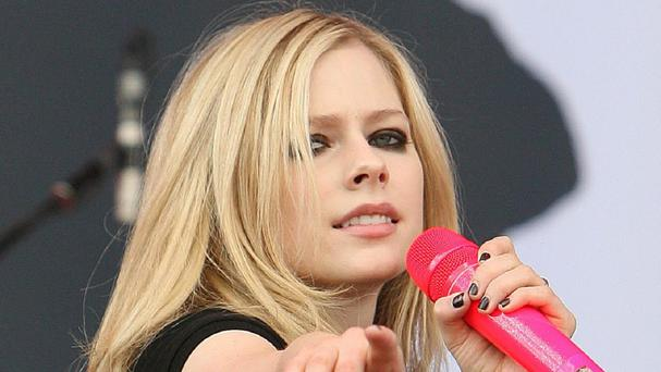 Avril Lavigne was diagnosed with lyme disease.