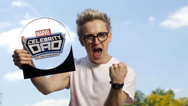 McBusted star Tom Fletcher, who was crowned Marvel Celebrity Dad of the Year in 2014, is to become a father for the second time