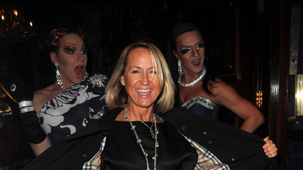 Carol McGiffin pictured before her diagnosis with breast cancer
