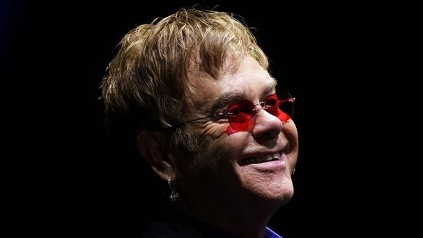 Sir Elton criticised the Russian president for his