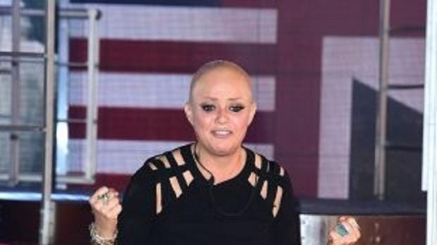 Gail Porter is evicted from the Celebrity Big Brother house at Elstree Studios.
