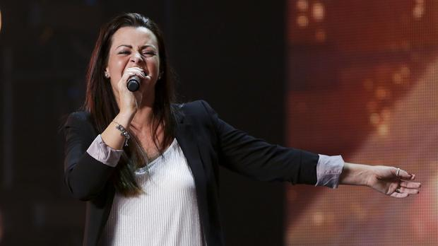 Sherilyn Hamilton-Shaw during the audition stage for The X Factor (Syco/Thames TV/PA)