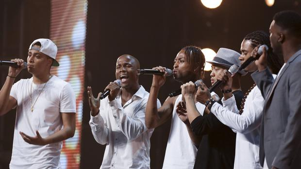 D-Tour perform during the audition stage for ITV talent show The X Factor (Syco/Thames TV/PA)