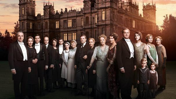 The Downton Abbey cast for the sixth and final series