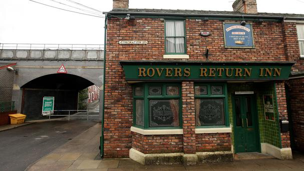 The Rovers will host a leaving do during the episode
