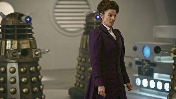 Michelle Gomez said she was aware of how daunting her role as a female time lord would be (Simon Ridgway/BBC/PA)