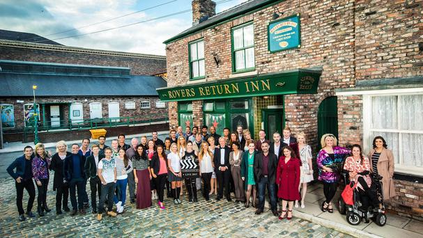 The Coronation Street live episode is part of ITV's 60th birthday celebrations (ITV/PA)