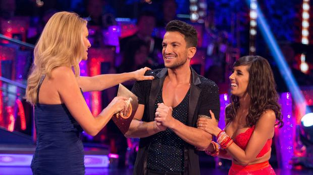Peter Andre is set to dance the cha cha with partner Janette Manrana to Christina Aguilera's Ain't No Other Man