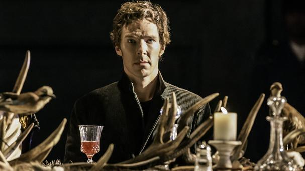 Benedict Cumberbatch is starring as Hamlet at London's Barbican