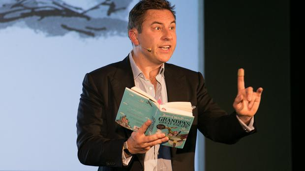 David Walliams reads from his book Grandpa's Great Escape