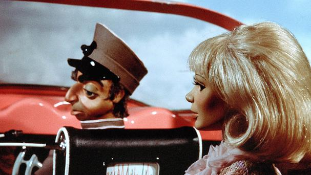 Thunderbirds puppets Parker and Lady Penelope (ITV/PA)