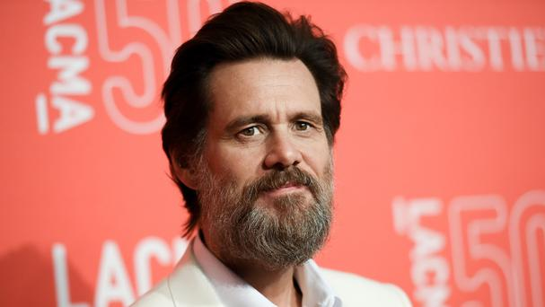 Jim Carrey has said he was shocked and saddened to learn of the death of his ex-girlfriend Cathriona White (AP)