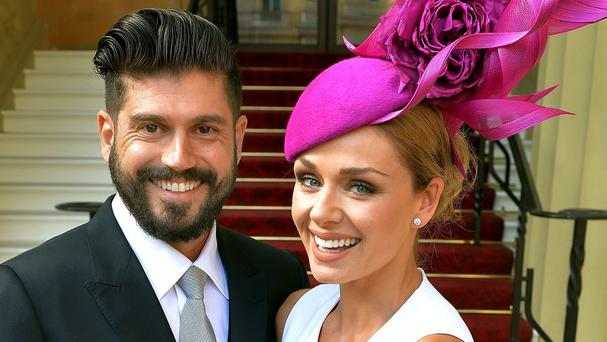 Katherine Jenkins married Andrew Levitas in 2014 after six months of dating