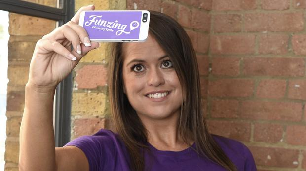 Self-proclaimed selfie queen Karen Danczuk launches the first ever Selfie World Championship, which is taking place later this month (Funzing/PA Wire)
