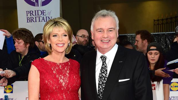 Eamonn Holmes and Ruth Langsford attended the Pride of Britain Awards