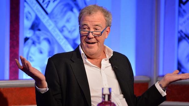 Jeremy Clarkson hosts the first programme in the latest series of Have I Got News For You (Richard Kendal/Hat Trick/BBC/PA Wire)