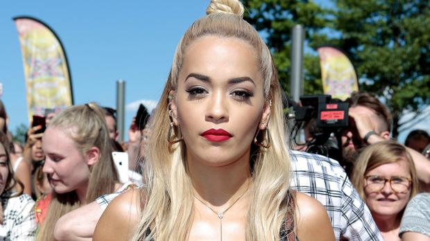 Rita Ora told Simon Cowell to mind his own business and wait until his category came up