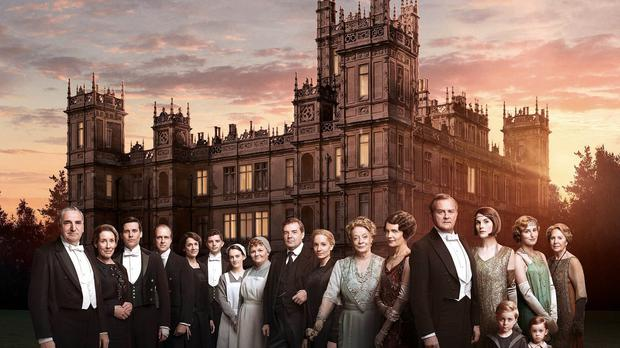 The Downton Abbey Series 6 cast (ITV/PA)