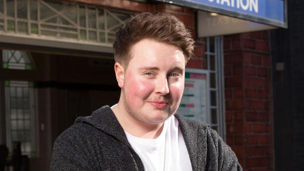 Riley Carter Millington, 21, who is set to join the Eastenders cast playing transgender character, Kyle (BBC/PA)
