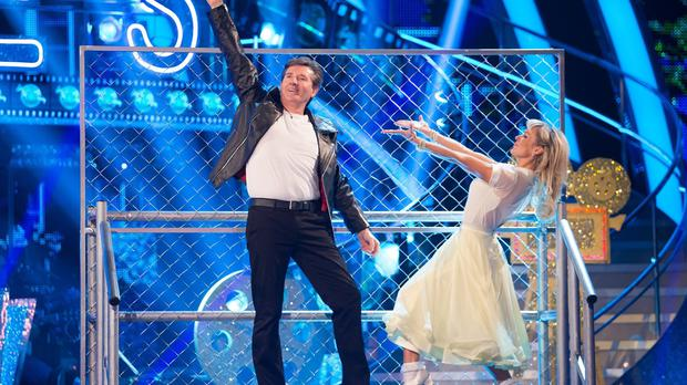 Strictly Come Dancing drew an average audience of 8.09 million with a 33.1% share of the total TV audience on Sunday (BBC/PA)