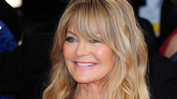 Goldie Hawn appeared on Loose Women