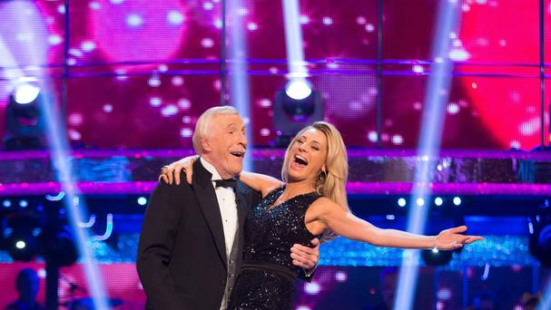 Sir Bruce Forsyth and Tess Daly will be back together for Children In Need