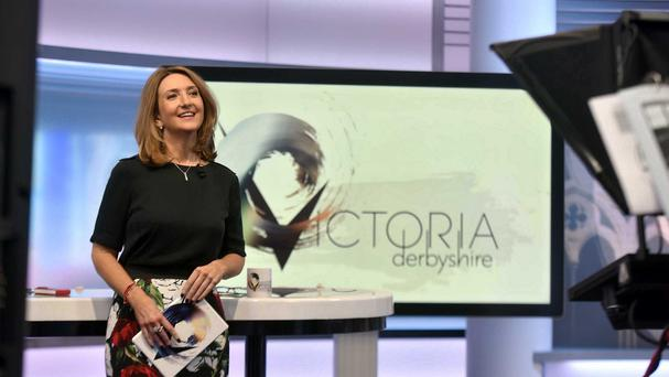 Victoria Derbyshire thanked viewers for their messages of support (BBC/PA)