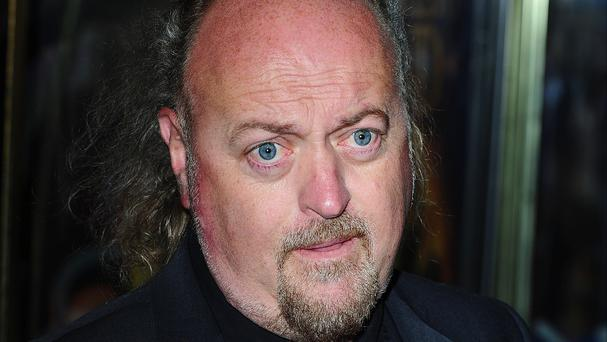 A tour van being used by comic Bill Bailey was stolen from the Liverpool Philharmonic Hall car park on Monday