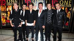 Simon Cowell created One Direction on The X Factor in 2010
