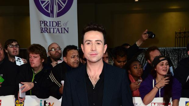 Nick Grimshaw expressed his admiration for Miley Cyrus and Adele