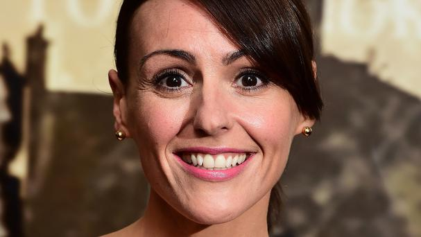 Actress Suranne Jones, who starred in the hit BBC drama Doctor Foster