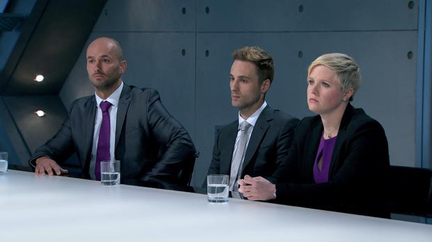 Team Connexus found themselves in Lord Sugar's boardroom after Snottydink failed to impress buyers