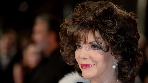 Dame Joan Collins revealed she had learned of her sister's condition three weeks before she died