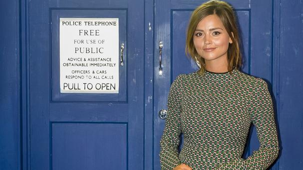 Peter Capaldi helped persuade Jenna Coleman to stay on for another series