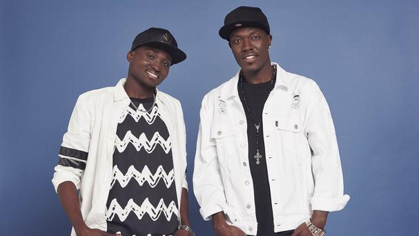 Reggie 'n' Bollie were praised by One Direction's Liam Payne for their X Factor rendition of What Makes You Beautiful (Syco/Thames TV/PA)