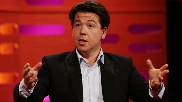 Michael McIntyre has told of his insular nature as a child, recalling not having many friends as a youngster