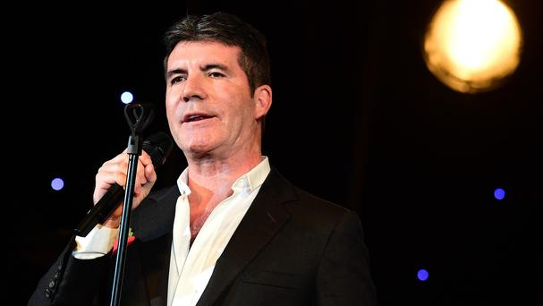 Simon Cowell appeared to run out of beer - as well as X Factor ideas