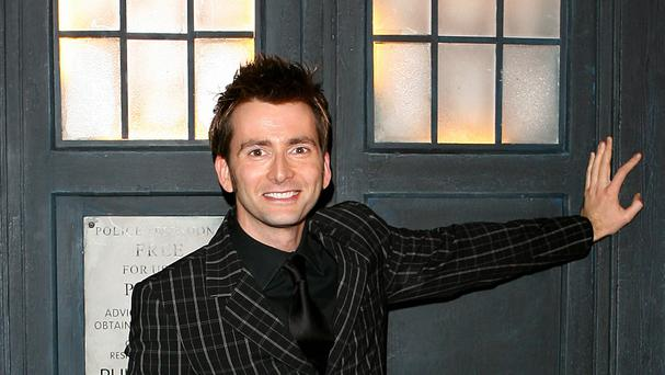 David Tennant said his children are big fans of Doctor Who