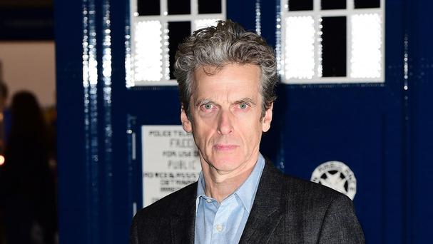Peter Capaldi attending the Doctor Who Festival at the ExCel Centre in London