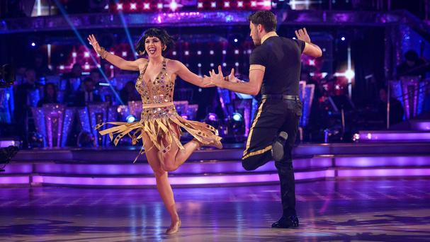 Georgia May Foote and Giovanni Pernice during Strictly Come Dancing (BBC/PA)