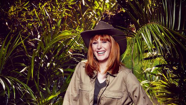 Yvette Fielding took part in a task to win meals for older camp mates