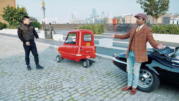 A still from the Chinese version of Top Gear filmed in London (BBC/PA)