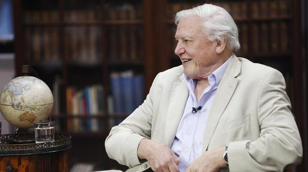 Sir David Attenborough will be interviewed by Kirsty Young
