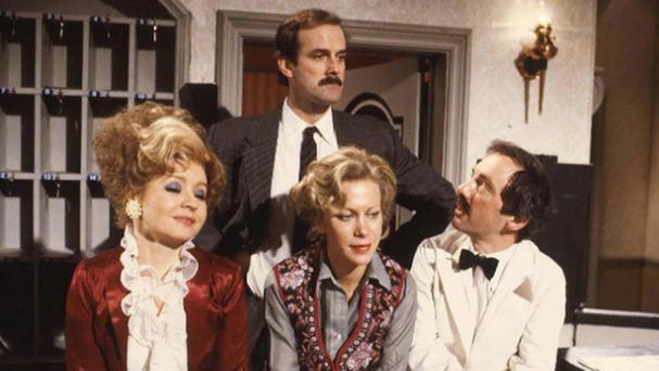 Prunella Scales, John Cleese, Connie Booth and Andrew Sachs all acted in Fawlty Towers, which ran for just 12 episodes