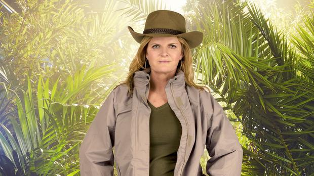Susannah Constantine, who ended up in the bottom two and secured fewer votes than Chris Eubank (ITV/PA)