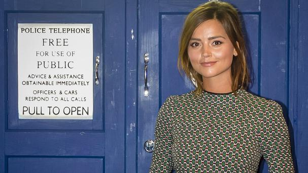 Doctor Who showrunner Steven Moffat says the women in the show such as Jenna Coleman's Clara are not like 'Bond girls'