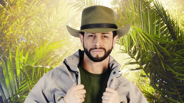 Brian Friedman was not unhappy by becoming the second contestant to leave the jungle, saying he would now get to eat (ITV/PA)