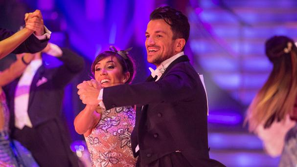 Peter Andre and Janette Manrara failed to impress