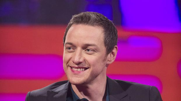 James McAvoy said he would
